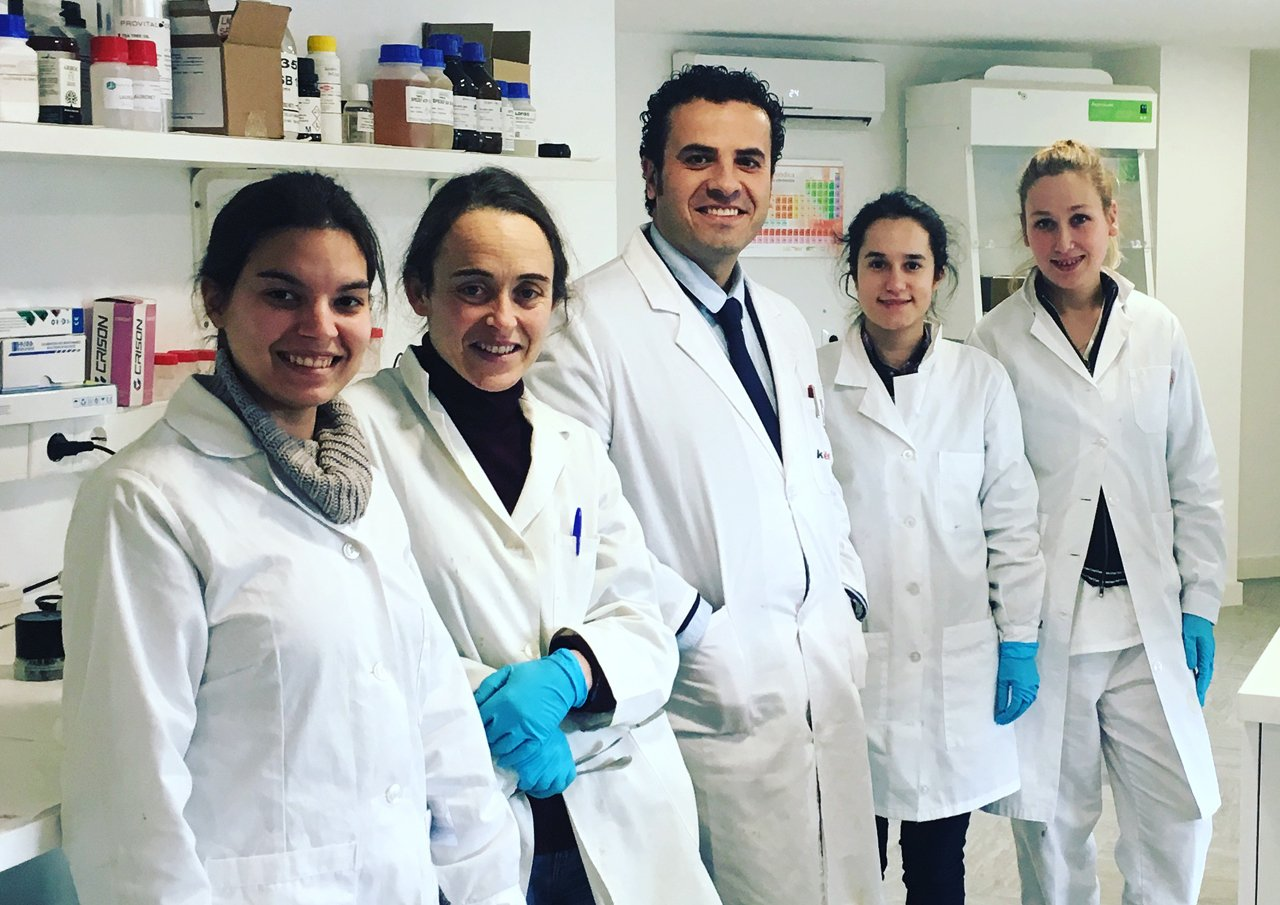 Técnicos de laboratorio